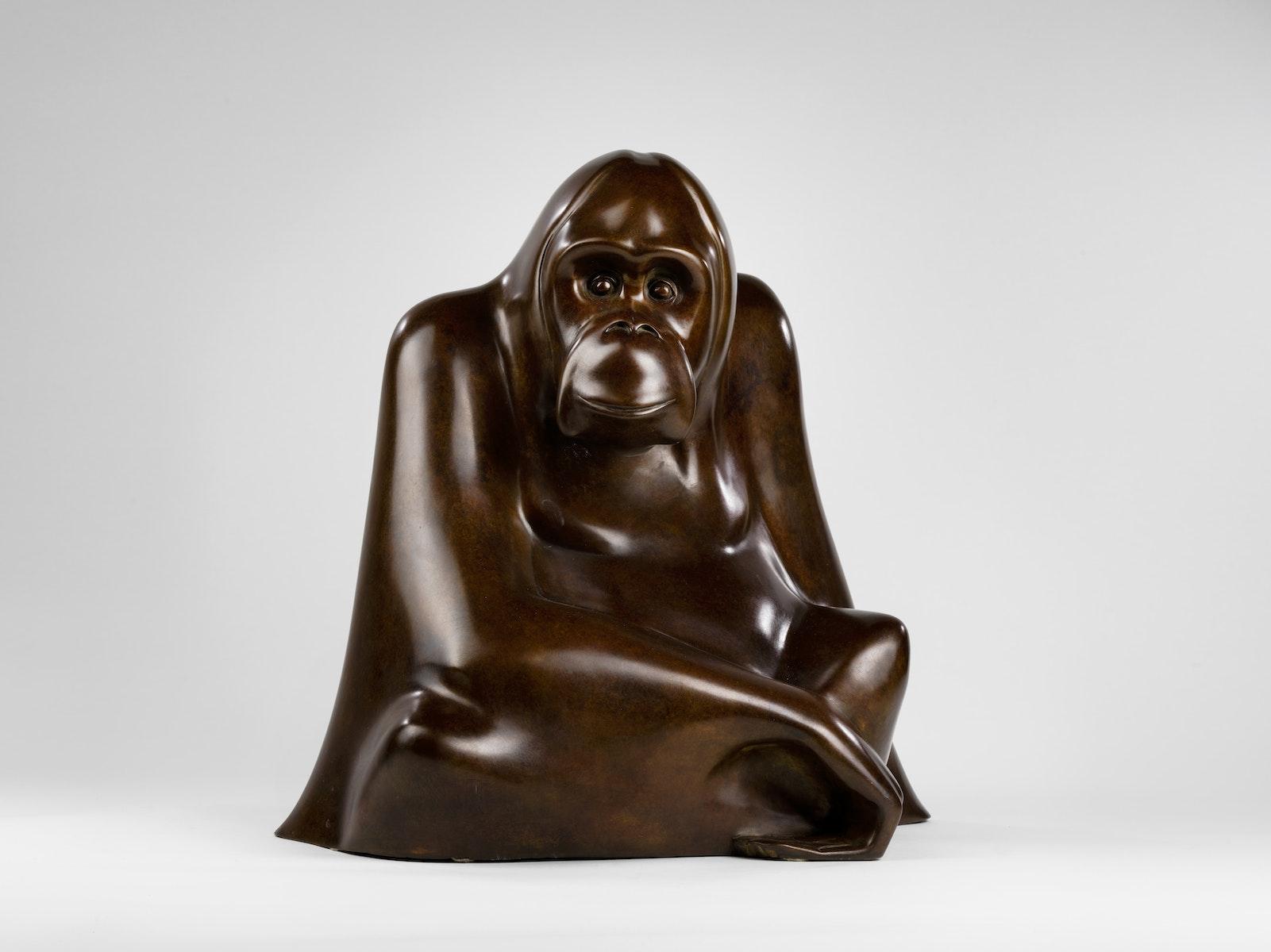 Jonathan Knight, Animalier, United Kingdom, Bronze, Orangutan
