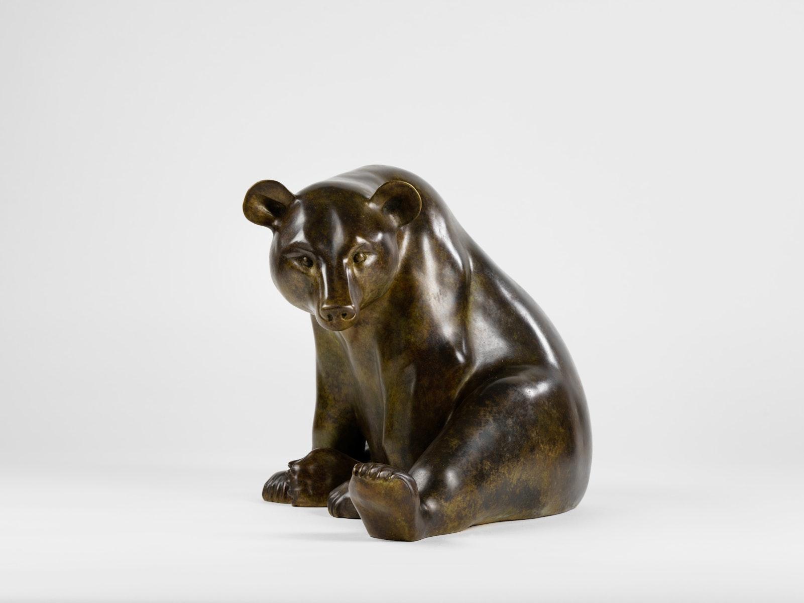 Jonathan Knight, Bear, Bronze, Animalier, United Kingdom