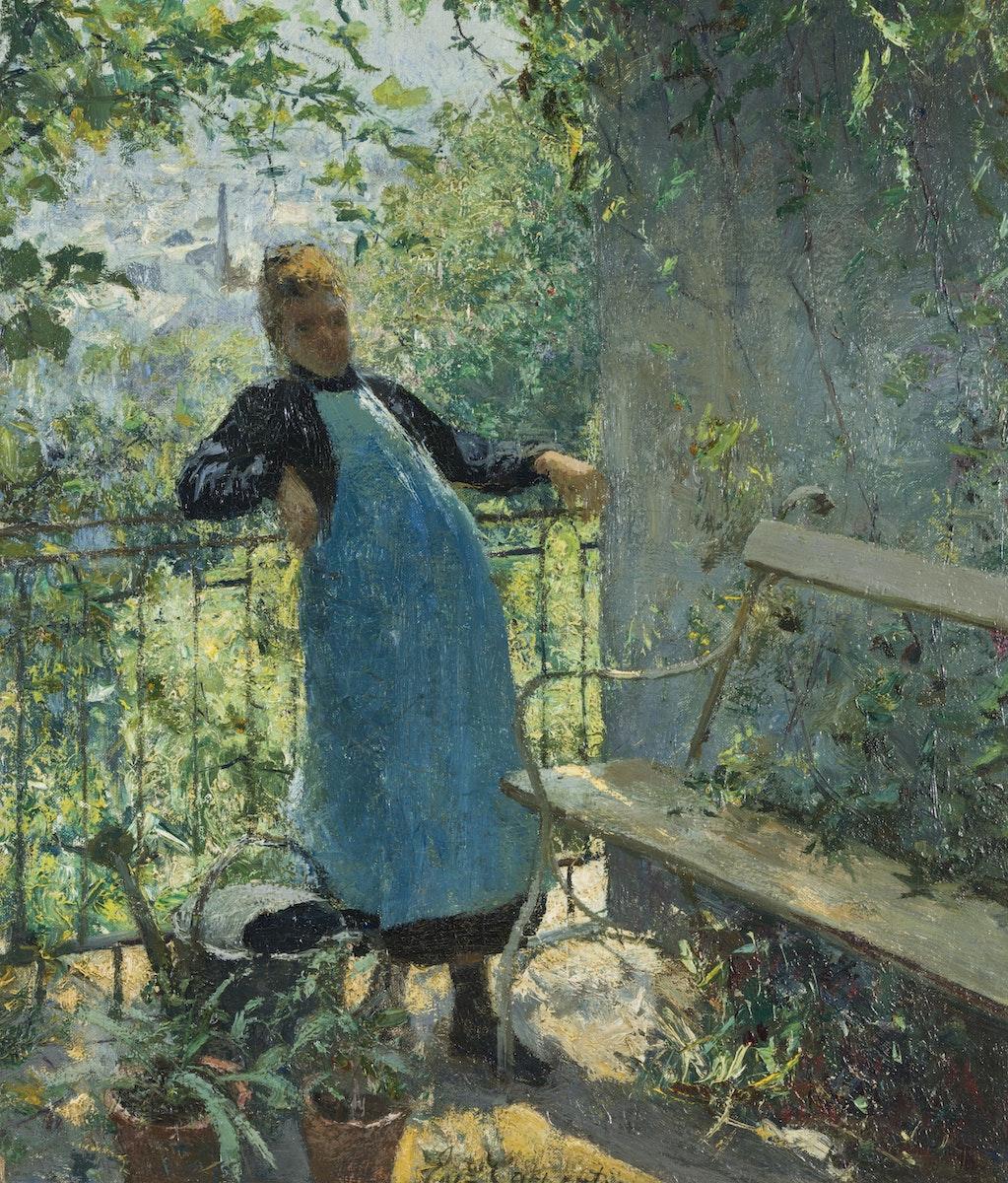 Impressionism, Belgische Kunst, Kuurne, Evariste Carpentier, Liège, Luik