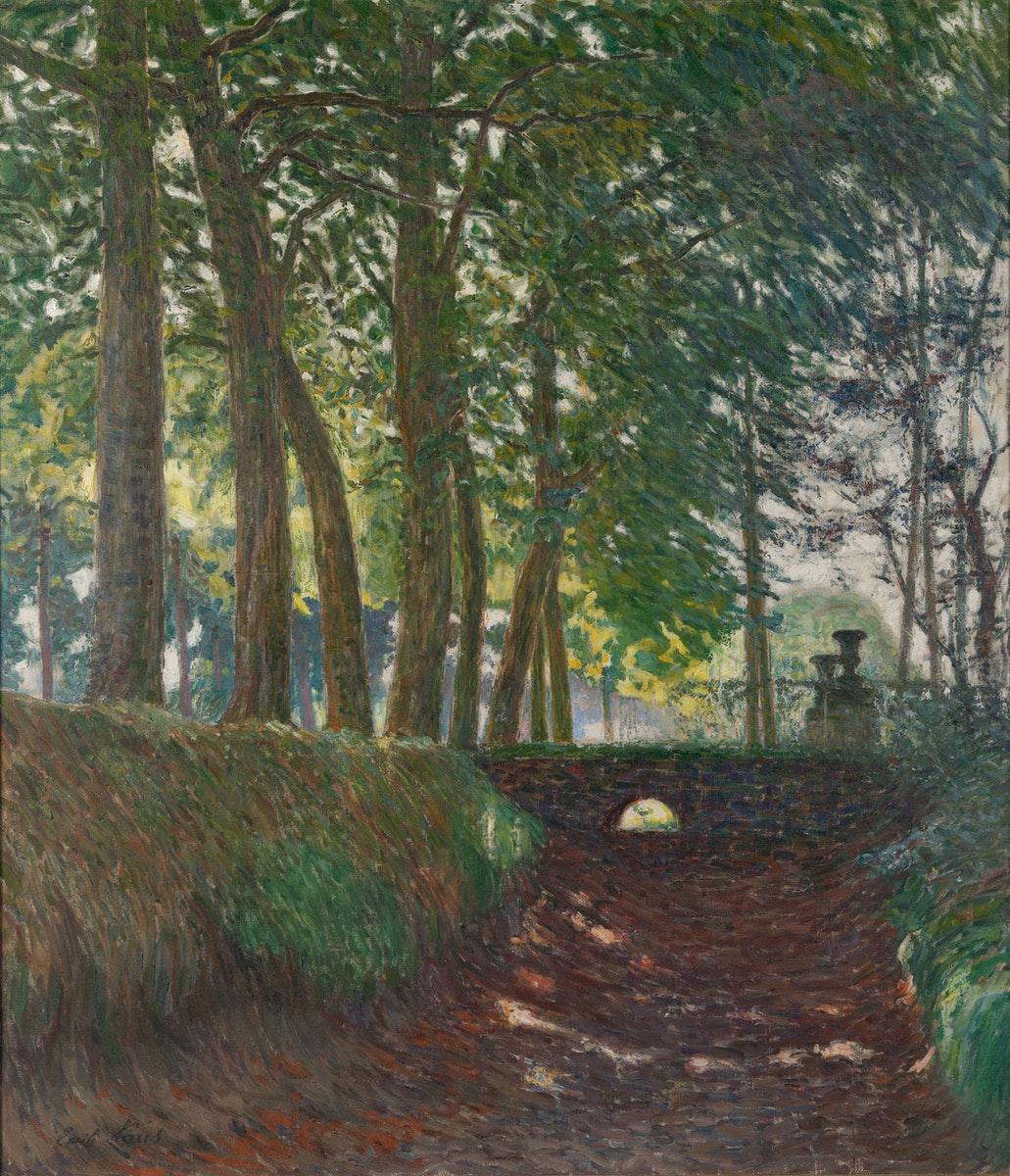 Sint-Martens-Latem, Latemse School, Impressionism, Belgische Kunst, Emile Claus, In The Park September