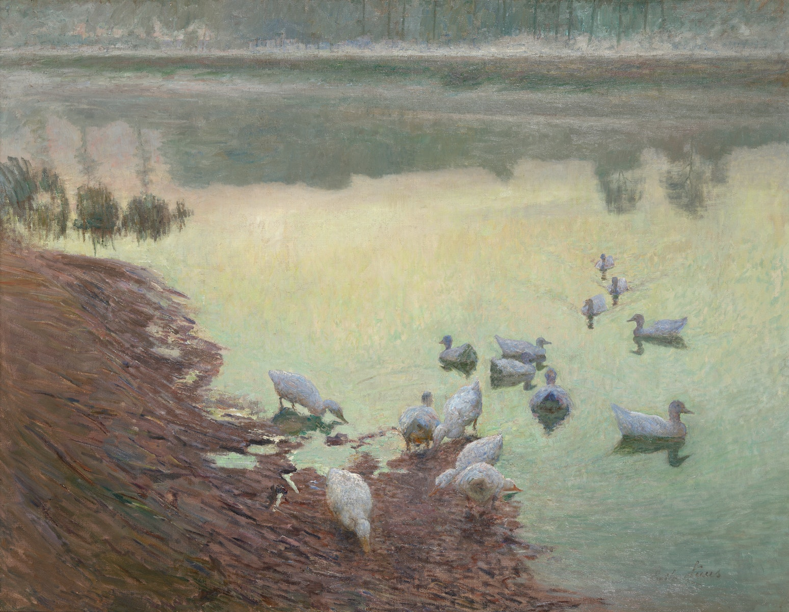 Emile Claus, Latemse School, Belgische Kunst, Leie, Lys, impressionisme